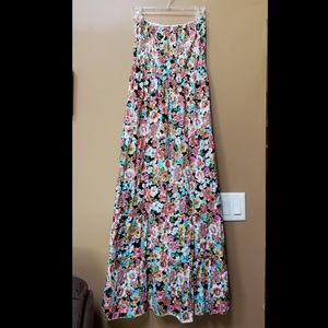 Club Z Collection floral maxi dress